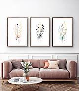 Kresby - Ilustrované kvety - 11955625_