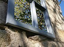 Zrkadlá - Trojdielne zrkadlo zo starého okna - 11957258_
