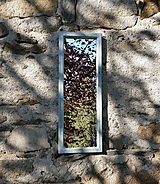 Zrkadlá - Zrkadlo zo starého okna - 11957415_