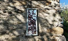Zrkadlá - Zrkadlo zo starého okna - 11957416_