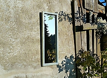 Zrkadlá - Zrkadlo zo starého okna - 11957580_