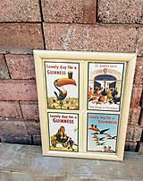 Obrázky - Obraz z retro podpivníkov pivovaru Guiness - 11958474_