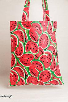 Nákupné tašky - Niečo ako EKOtaška - melóny - 11955490_
