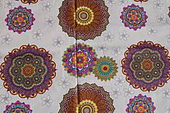 Textil - metráž mandaly - 11958765_