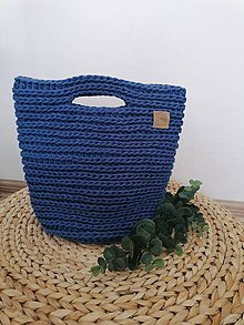 Kabelky - Kabelka / taška modrá. - 11957225_