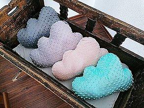 Textil - Minky vankúšik obláčik - 11958932_
