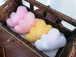 Textil - Minky vankúšik obláčik - 11958933_