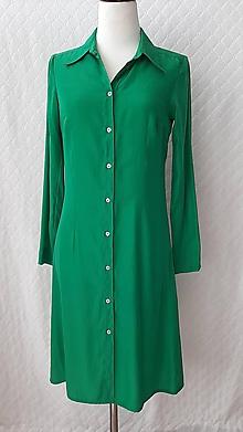 Šaty - Šaty zelené - 11960485_