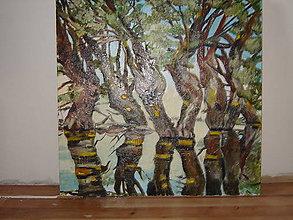Obrazy - Obraz, olejomaľba - 11959384_