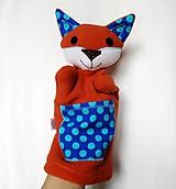 Maňuška líška - Líštička Modrého Bodkova