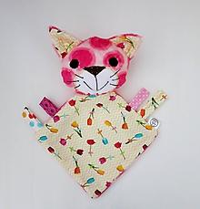 Hračky - Mojkáčik mačka - Mačička z Tulipánového údolia - 11959167_