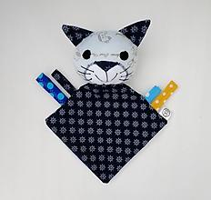 Hračky - Mojkáčik mačka - Kocúrik námorník - 11959219_