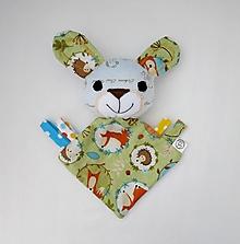 Hračky - Mojkáčik zajko - Zajo od Líščieho chodníčka - 11962260_