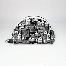 Taštičky - Mini kapsička domčeky - 11962698_