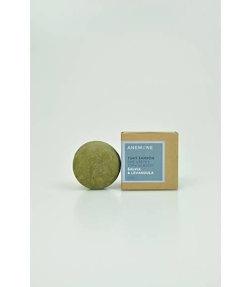 Anemone tuhý šampón - levanduľa & šalvia