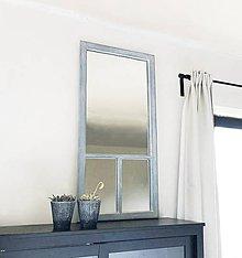 Zrkadlá - Trojdielne zrkadlo zo starého okna - 11961461_