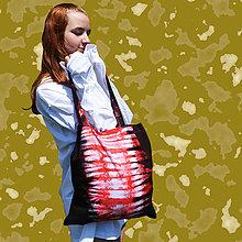 Nákupné tašky - Taška bavlnena na plece - 11959905_