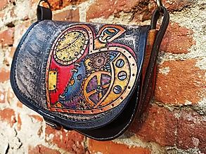 Kabelky - Kožená kabelka #SteamPunk# - 11961120_