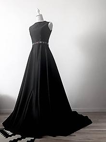Šaty - Šaty s vlečkou - 11966085_