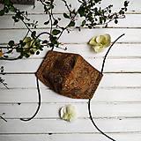 Rúška - Dámská dvouvrstvá rouška/ústenka - Paisley n.2 - 11962771_