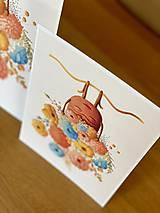 Grafika - Rozkvitnutá Frida - Print | Botanická ilustrácia - 11962843_