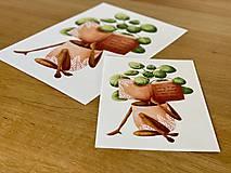 Grafika - Dobré čítanie - Print | Botanická ilustrácia - 11962877_