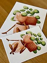 Grafika - Dobré čítanie - Print | Botanická ilustrácia - 11962880_