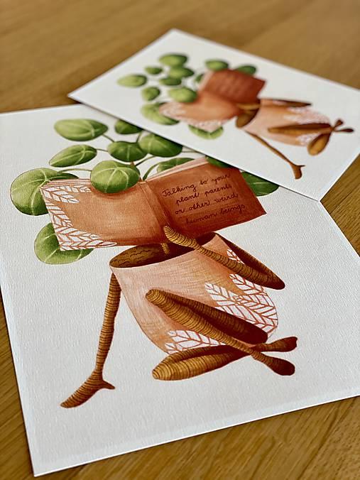 Dobré čítanie - Print | Botanická ilustrácia