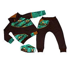 Detské oblečenie - Originálna súprava s opicami - 11962794_