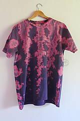 Tričko_T-shirt_batik_purple_L_uni