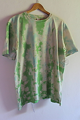 Tričko_T-shirt_batik_green_XL
