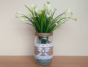 Dekorácie - Svadobná váza ❤️ - 11965379_