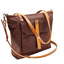 Veľké tašky - Taška PLAY BROWN - NEW 3 - 11964503_