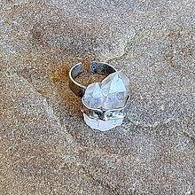 Prstene - Cínovaný prsteň - Krištáľové špice - 11968039_
