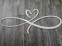 Drobnosti - Srdce so znakom nekonečna - 11968826_