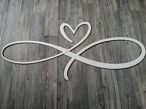Srdce so znakom nekonečna