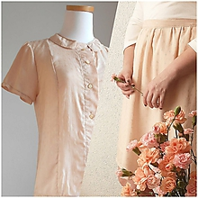 Šaty - Set blúzka & sukňa Mini diamods - 11969484_