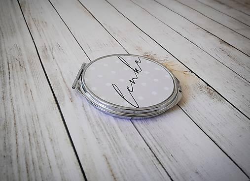Zrkadielko bodkované