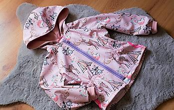 Detské oblečenie - Letná softshellová bunda - 11969101_