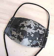 Rúška - pánske rúško army digital III - 11969449_