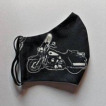Doplnky - Chlapské rúško Easy Rider white&black harley III - 11968547_