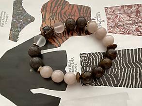 Náramky - Hnedo-bronzový náramok / Brown Bronze Bracelet - 11971015_