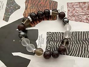 Náramky - BloodStone Náramok/ BloodStone Bracelet - 11971036_