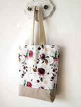 Nákupné tašky - Taška rose - 11967867_