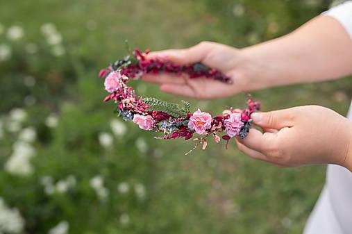 """Kvetinový polvenček """"bozky pod stmievaním"""""""