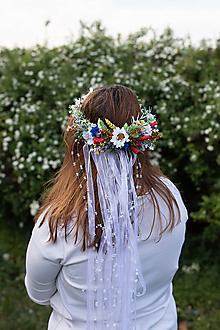 """Ozdoby do vlasov - Folk zavenček """"uvi mi lásku"""" - 11968782_"""