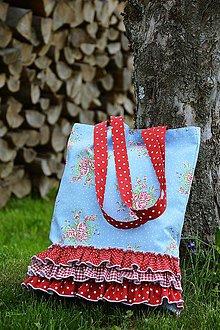 Nákupné tašky - Nákupná taška - ROMANTIČKA - 11969038_
