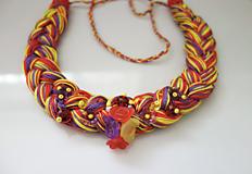 Náhrdelníky - Paletka farieb III. - 11970079_