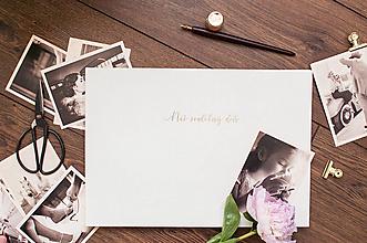 Papiernictvo - Fotoalbum - Náš svadobný deň - 11969091_
