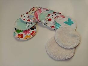 Úžitkový textil - Kozmetické tampóny (10 ks) - 11970358_